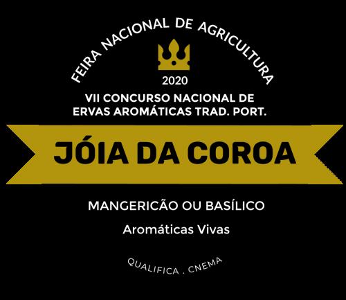Jóia da Coroa Manjericão 2020