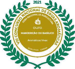 Medalha de Ouro Manjericão ou Basílico 2021