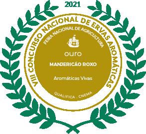 Medalha de Ouro Manjericão Roxo 2021