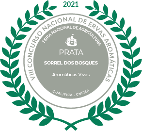 Medalha de Prata Sorrel dos Bosques 2021