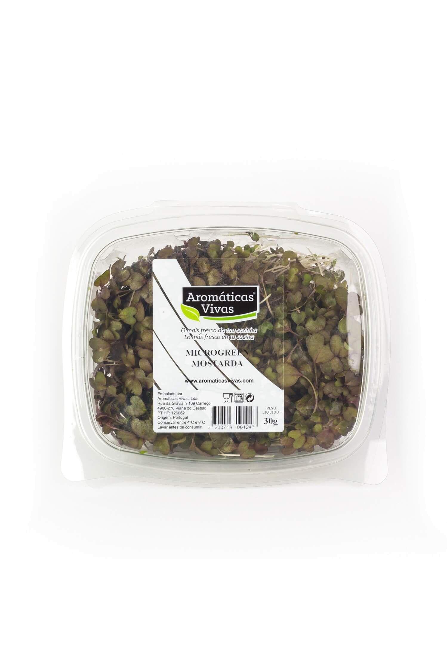 Microgreens Mostarda
