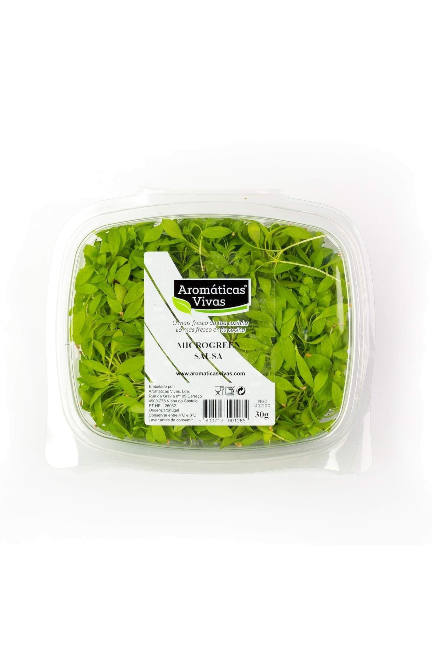 Microgreens Salsa