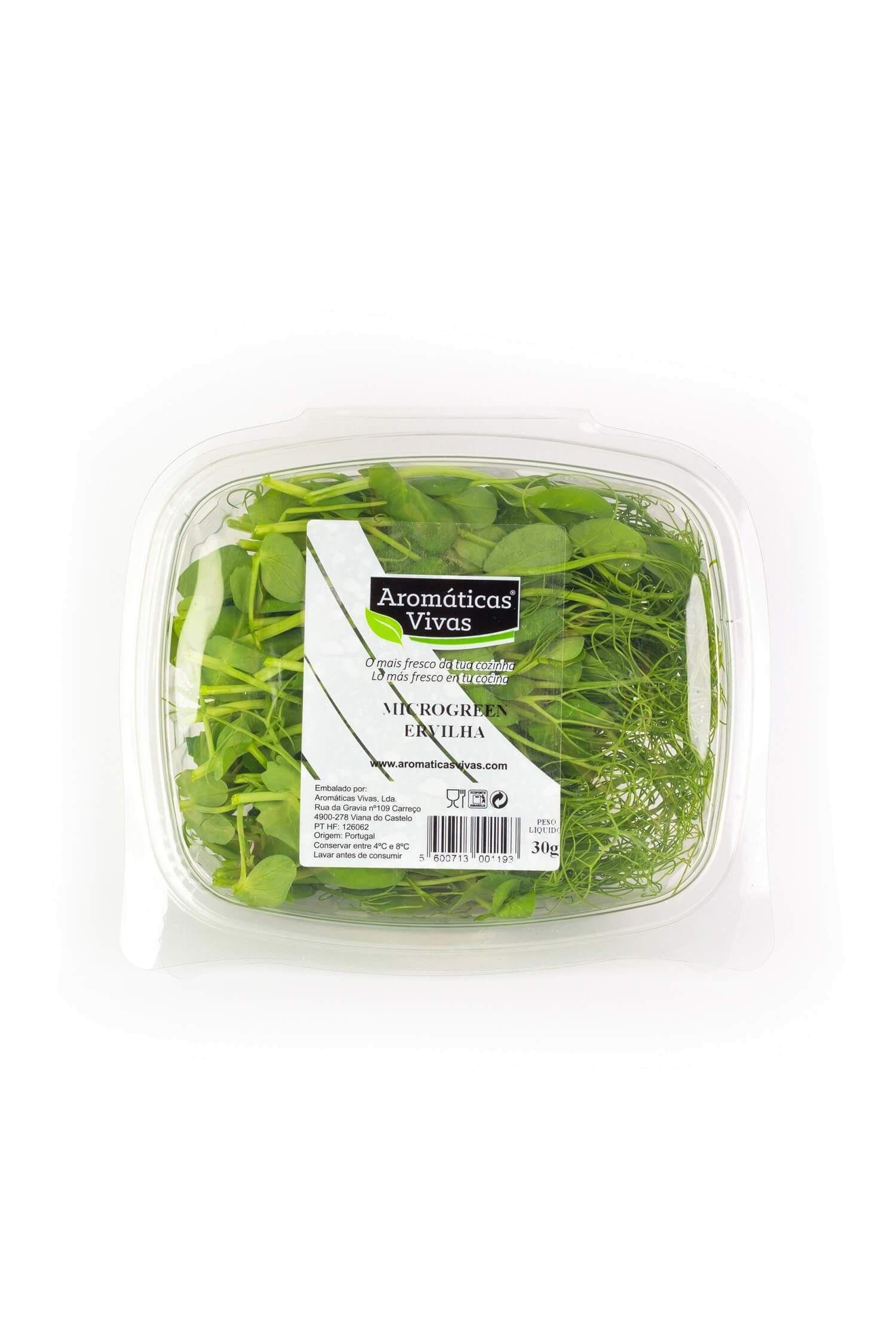 Microgreens Ervilha